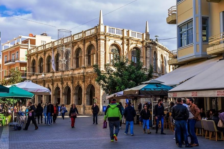 how to get from heraklion to chania